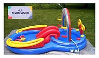 Дитячий басейн / Надувний ігровий центр - Intex 57453 синій - надувной бассейн / надувний басейн