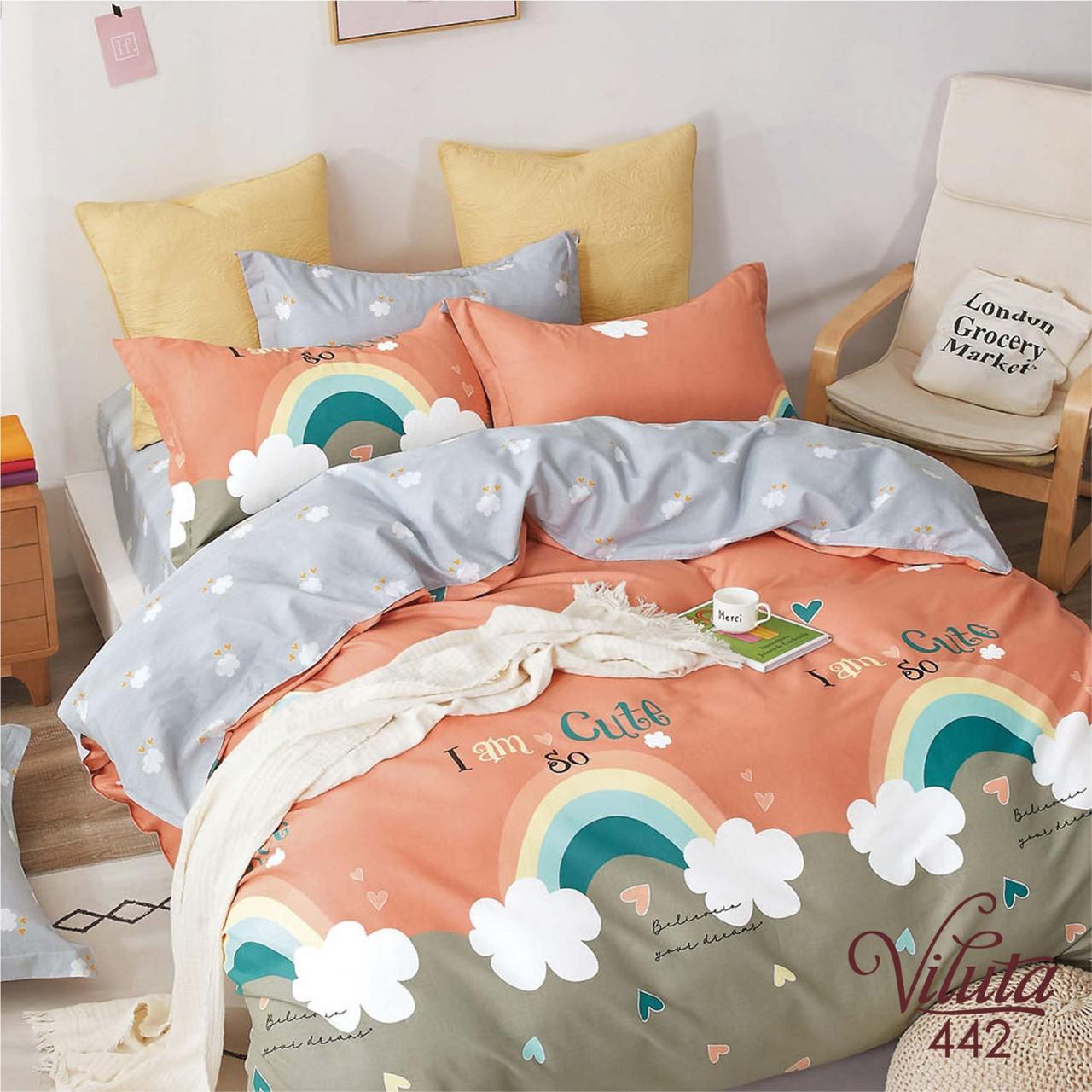 Комплект постельного белья подростковый Вилюта Сатин Twill