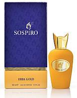 Sospiro Perfumes Erba Gold 100 мл (унисекс Соспиро Ерба Голд) ОРИГИНАЛ EDP парфюмированная вода