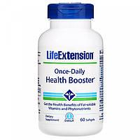 Витамины для здоровья, Once-Daily Health Booster, Life Extension, 60 мягких капсул, фото 1