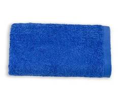 Полотенце махровое гладкокрашеное 50х90 Синее 430 г/м²