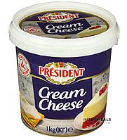 """Крем сыр 60% ТМ """"Президент"""" 1 кг"""