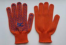 Рукавички SG помаранчева платировка (аналог Зірка)