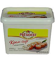"""Крем-сыр ТМ """" Президент """" 24 %, 1 кг"""