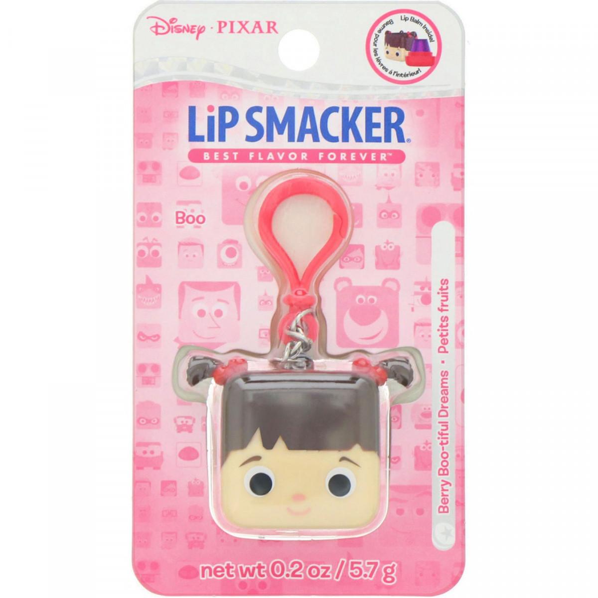 Бальзам для губ в кубику Pixar, Boo, ягідний, Lip Smacker, 5,7 г
