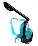 Маска для снорклінга з диханням через ніс Zelart (YSE-S52), фото 3