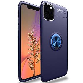 """TPU чехол Deen ColorRing під магнітний тримач (opp) для Apple iPhone Pro 12 / 12 (6.1"""")"""