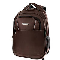 Мужской смарт-рюкзак (3DETAB2020-10) Valiria Fashion 29х39х16 см Коричневый
