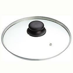 "Кришка ""Serena"" з чорною кнопкою, діам.22см 641.04 FRABOSK"