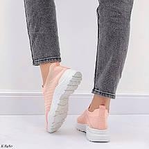 Кросівки жіночі персикові, фото 3