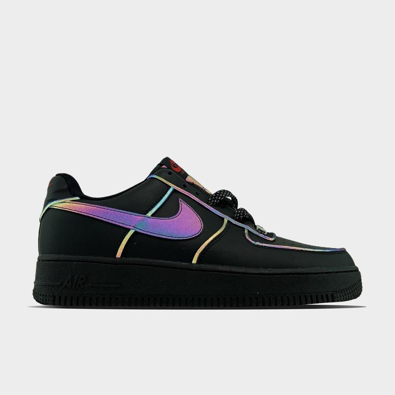 Мужские/Женские кроссовки Nike Air Force Low Black Reflective
