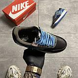 Жіночі кросівки Nike Air Force 1 Low Travis Scott Blue, фото 5