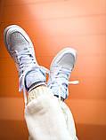 "Мужские/Женские кроссовки Nike Air Jordan 1 Mid ""White"", фото 2"