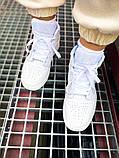 "Мужские/Женские кроссовки Nike Air Jordan 1 Mid ""White"", фото 3"