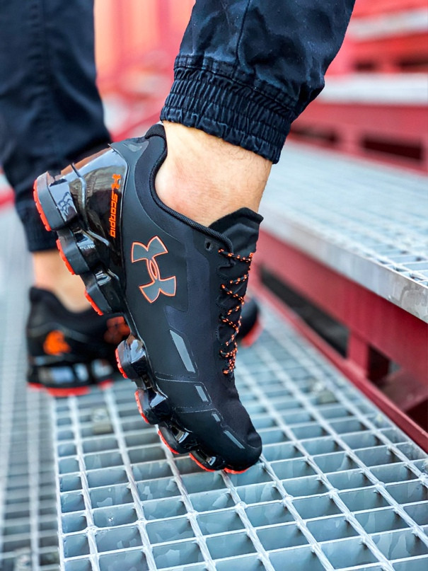 Мужские кроссовки Under Armour Scorpio Running shoes black/orange