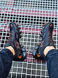 Мужские кроссовки Under Armour Scorpio Running shoes black/orange, фото 3