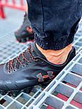 Мужские кроссовки Under Armour Scorpio Running shoes black/orange, фото 5