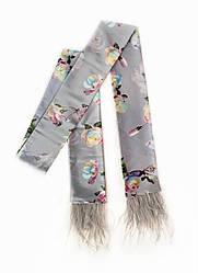 Стильний краватка твилли з пір'ям, стрічка для волосся від myscarf