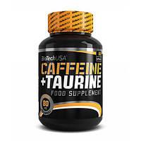 BioTech USA Caffeine + Taurine 60 капсул