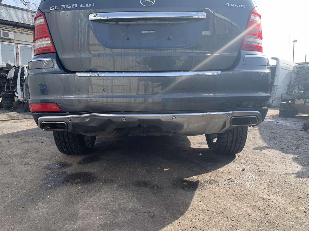Бампер задній рестайл Mercedes GL X164 задній бампер Мерседес ГЛ 164 2008 2009 2010 2011 2012