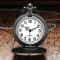 Кишенькові чоловічий годинник на ланцюжку Death Note Зошит Смерті, фото 2