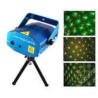 Лазерный проектор, стробоскоп, светомузыка