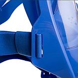 Маска детская для снорклинга FitGo 6-12 лет синий, фото 5