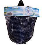 Маска детская для снорклинга FitGo 6-12 лет синий, фото 7