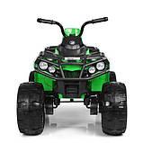 Детский квадроцикл M 3999EBLR-5 зеленый, фото 6