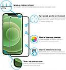 Защитное стекло Global для Apple iPhone 12 mini Full Glue Black (1283126506376), фото 2