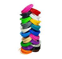 Пластик для 3d ручки, набор разных цветов по 10 метров, pla пластик для 3д ручки | стержні до 3д ручки (TI)