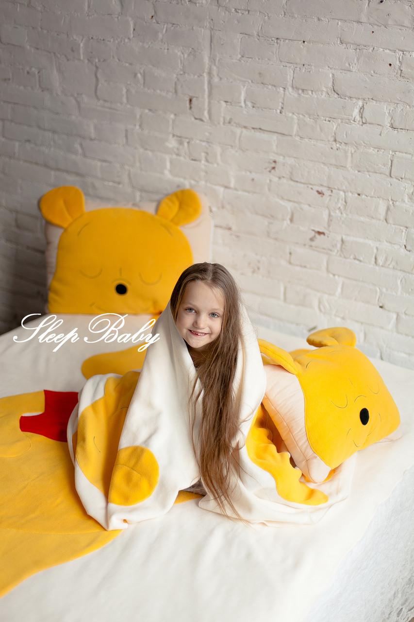 Дитячий комплект ковдра і подушка ВІНІ