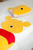 Дитячий комплект ковдра і подушка ВІНІ, фото 4
