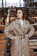 Стильне жіноче пальто в 2х кольорах ПВ-238