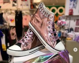 Кеди Взуття MalaMi Польща Рожевий ПЕРЛАМУТР, 35, Malami, Польща