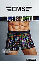 """Труси чоловічі, боксери """"EMS Sport"""". EMS-N131."""