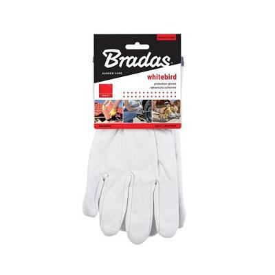Защитные перчатки из козьей кожи со светлой  подкладкой, WHITEBIRD, RWWB105