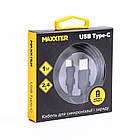 Кабель Maxxter USB-microUSB 1м черный (UB-C-USB-02-1m), фото 2
