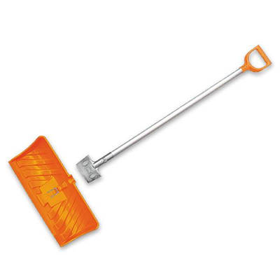 Лопата-плуг для уборки снега ICE CHOPPER с алюминиевым  профилем, KT-CXG804-С