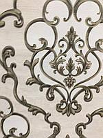 Обои флизелиновые, горячее тиснение, Дана декор 6-0454 для гостиной, спальни, прихожей и др. помещений