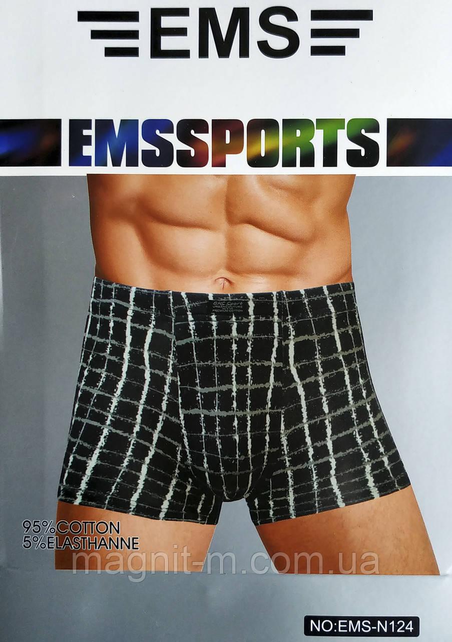 """Труси чоловічі, боксери """"EMS Sport"""". EMS-N124."""