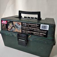 Кейс MTM для патронов 12 калибр на 100 шт, камо