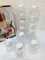 Набор баночек для специй Spice Tower Carousel