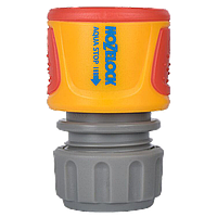 Коннектор HoZelock 2075 Классик с Аквастоп (12,5 мм и 15 мм)