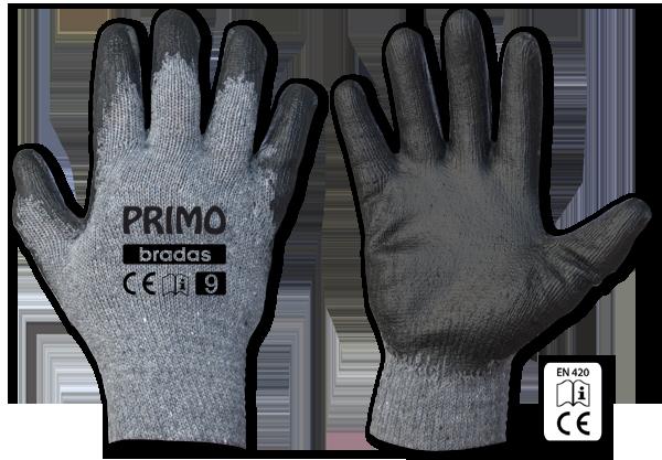 Перчатки защитные PRIMO латекс, размер 8, RWPR8