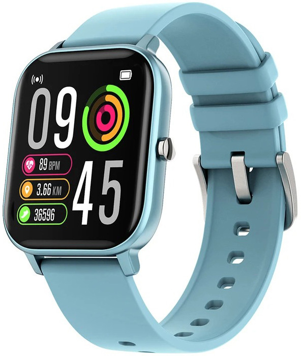Смарт часы  Colmi P8 Pro (P8T) с пульсометром и термометром Blue