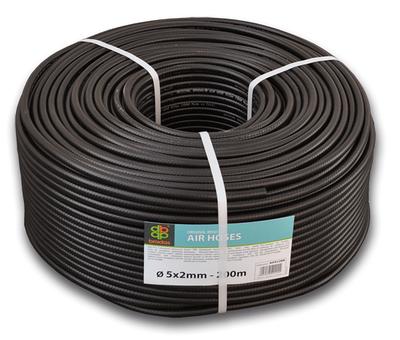 Шланг технический BRADAS BLACK 5 х 2мм, 20bar, AH05*2BK12
