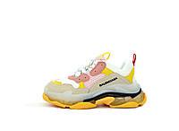 Кроссовки женские Balenciaga Triple S кросовки жіночі баленсиага трипл с разноцветные стильные кроссовки
