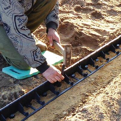Колышек для крепления бордюра к почве,  25см, RIM-BORD, OBKT25/50
