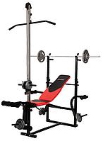Лава для жиму лежачи універсальна Hop-Sport 1070 + тяга, фото 1
